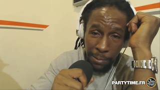 freestyle Jah Cure at Party Time Reggae Radio show 2016
