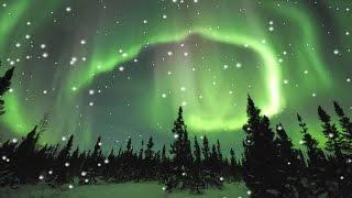 Beautiful Winter Music - Aurora Borealis