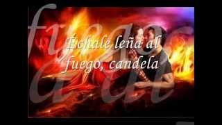 CANDELA - CHAYANNE (letra)