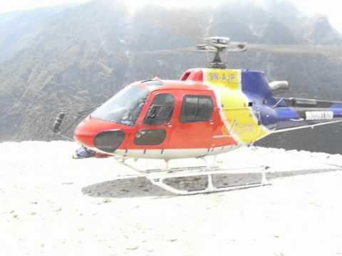 Heli rescue in Nepal