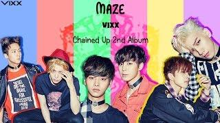 VIXX (빅스) - MAZE (Colour Coded) [Han|Rom|Eng Lyrics]