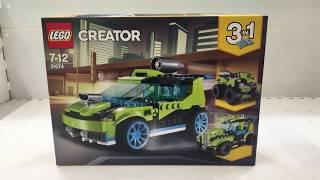 LEGO 31074 - Raketen-Rallyeflitzer - 31074 - LEGO® Creator