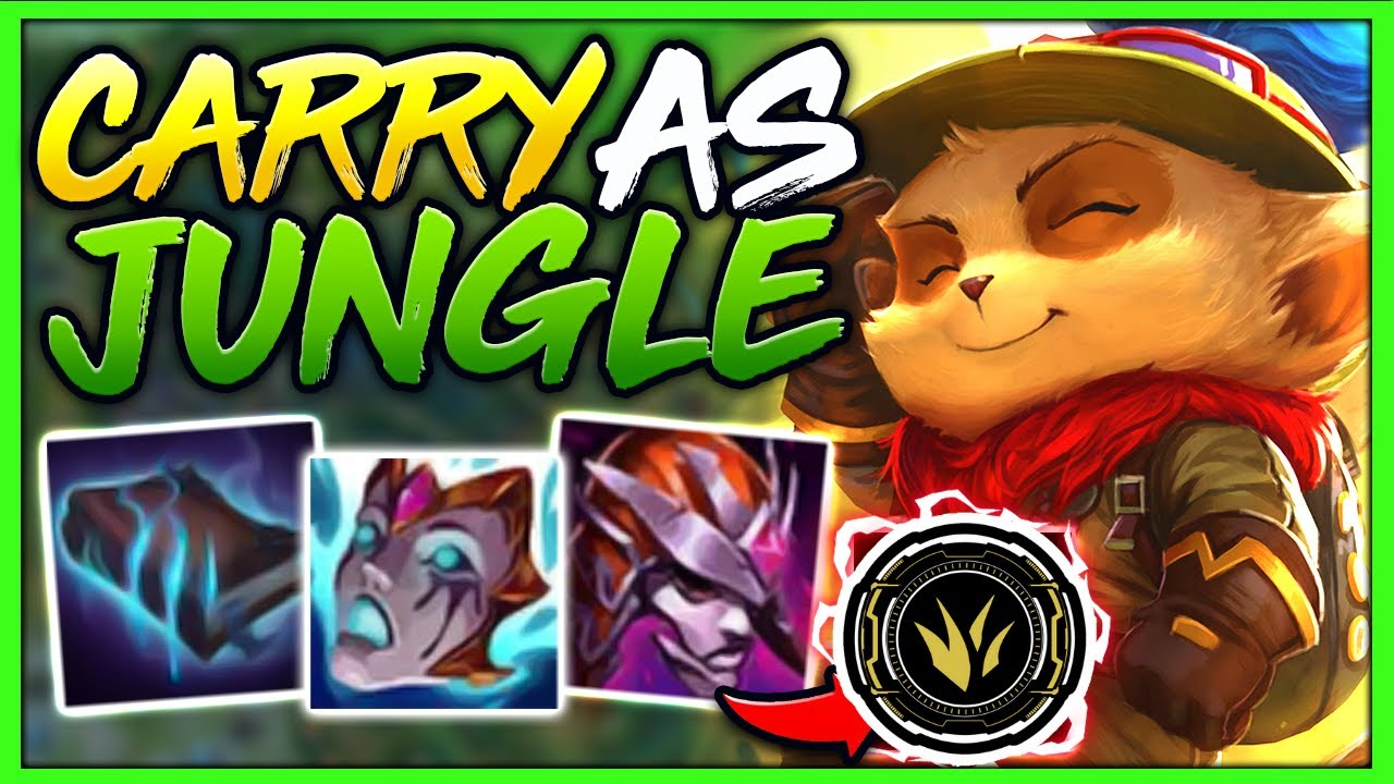 Manco1 - #1 TEEMO WORLD HOW TO CARRY AS JUNGLE IN SEASON 11 (INFORMATIVE GAMEPLAY) - League of Legends