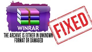 Cara Mengatasi : │Winrar Archive Is Unknown Format Or Damaged │100% Work