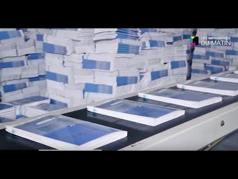 Video : Les Imprimeries Le Matin renforcent leur positionnement sur le marché du Livre scolaire