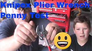 Knipex Pliers Penny Test