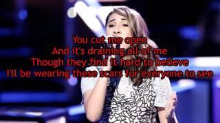 Hanna Eyre - Bleeding Love (The Voice Performance) - Lyrics