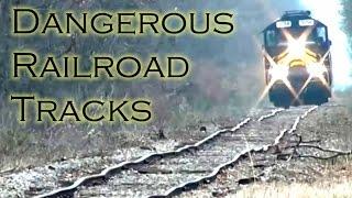 Dangerous Railroad Track Compilation #84732
