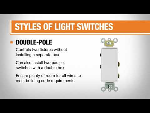 Types of Light Switches and Dimmers