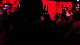 Izaline Calister treedt op in de  North Sea Jazz Club  2.3.2013