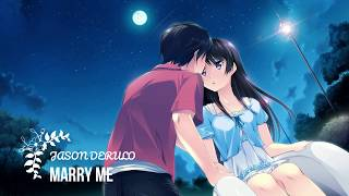 Nightcore(Lyrics) - Marry Me (Female Version)