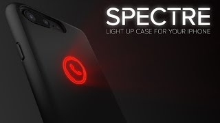 Check out the Spectre iPhone notification case on Kickstarter