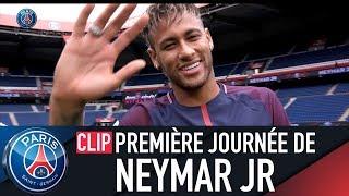 PREMIERE JOURNEE DE NEYMAR Jr