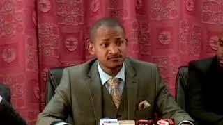 Speaker Justice Muturi differ with Hon. Babu  Owino during professor George Magoha vetting for CS