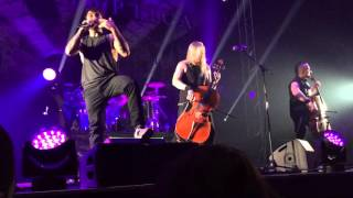 Apocalyptica - Not Strong Enough Live (Belgrade @Dom Sindikata, 2015)