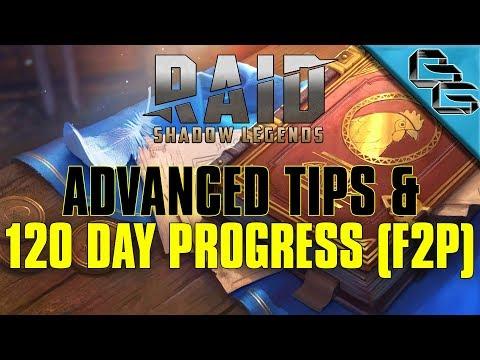 RAID: Shadow Legends | 120 Day Progress + Advanced Tips | FREE Sacred Shard | F2P