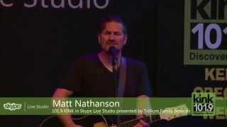 Matt Nathanson - Come On Get Higher (101.9 KINK)