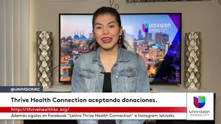 Thrive Health Connection aceptando donaciones.