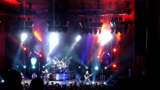 Nickelback Burn It To The Ground Live @ Blossom Music Center 8/14/2009