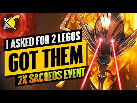 I PULLED S-TIER LEGENDARIES !! | 2X Sacreds Event Highlights | RAID: Shadow Legends