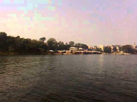 A view of Rangamati Lake, Rangamati, Bangladesh.