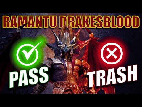 How Good is Ramantu Drakesblood? Guide Gameplay and Champion Spotlight I Raid Shadow Legends