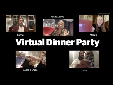 How to Host a Virtual Dinner (and make kale pesto)