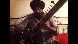 Tere Pyaar Mein Dildaar|Ranjit Singh Bhola|Sitar