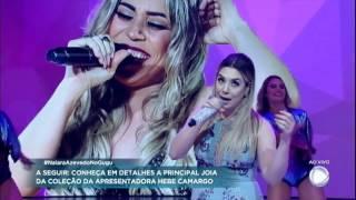 Naiara Azevedo canta sua nova música Mordida, Beijo e Tapa no Gugu