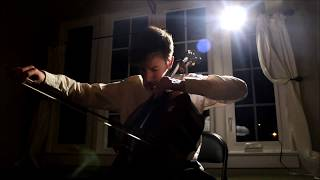 "Beethoven ""Moonlight Sonata"" cello cover"