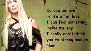 Cher- Believe (lyrics) [HD]