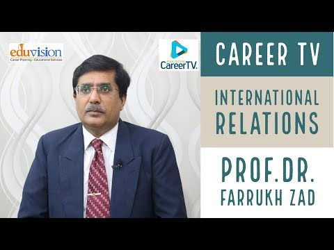Career in International Relations is better than CSS - Dr Farrukh Zad