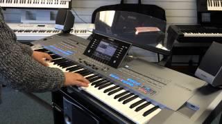 Aha - The Sun Always Shines on TV - Yamaha Tyros 5 Keyboard