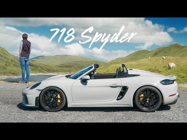 Porsche 718 Boxster Spyder (982)