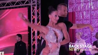 Pro Latin | Artur Tarnavskyy and Anastasiya Danilova | Cha cha at Constitution Sate 2018