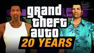 GTA 20th Anniversary Tribute Trailer