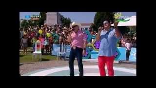"""LUCAS & MATHEUS Tema: """"Quimica"""" em Paredes (Verão total da rtp) Contacto para Festas"""