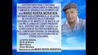 Don Mario Rivera de Morataya