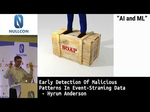 Early Detection Of Malicious Patterns In Event-Streaming Data | Hyrum Anderson