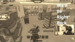 Ninja rages at kid in H1Z1.