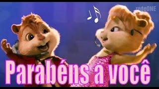 -► Alvin e os Esquilos - Chipmunks - Parabéns pra você - Feliz Aniversário  ◄-