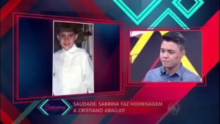 Cristiano Araújo homenagem Sabrina