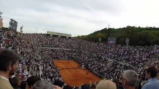 Novak Djokovic vs Rafael Nadal match point live ROME 2014 Internazionali BNL D'ITALIA