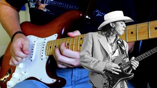 Stevie Ray Vaughan – Tightrope (Guitar Solo Cover)