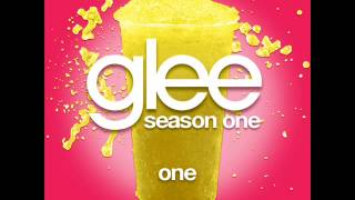 Glee - One [LYRICS]