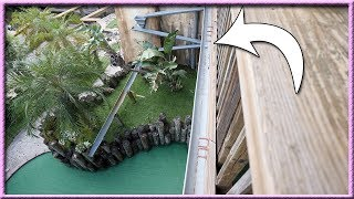 I'VE NEVER SEEN A MINI GOLF HOLE LIKE THIS BEFORE! - LUCKY HOLE IN ONES! | Brooks Holt