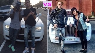 G Eazy cars vs Machine gun kelly cars (2018)
