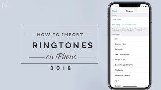 How to IMPORT custom Ringtone on iPhone without PC | Top 10 Popular Ringtones for iPhone and Android