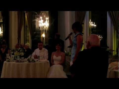 Dev's Maid of Honor Speech- Kelli & Adam's Wedding (1.12.13)