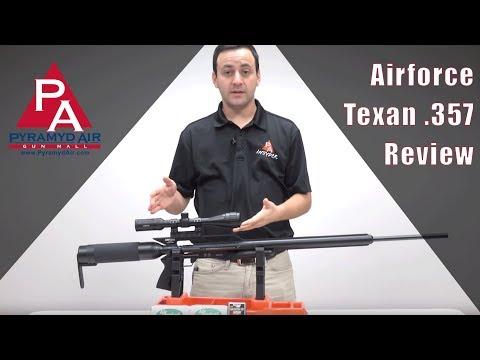 Video: Airforce Texan .357 Review  | Pyramyd Air